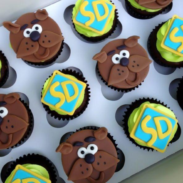 scooby doo cupcakes
