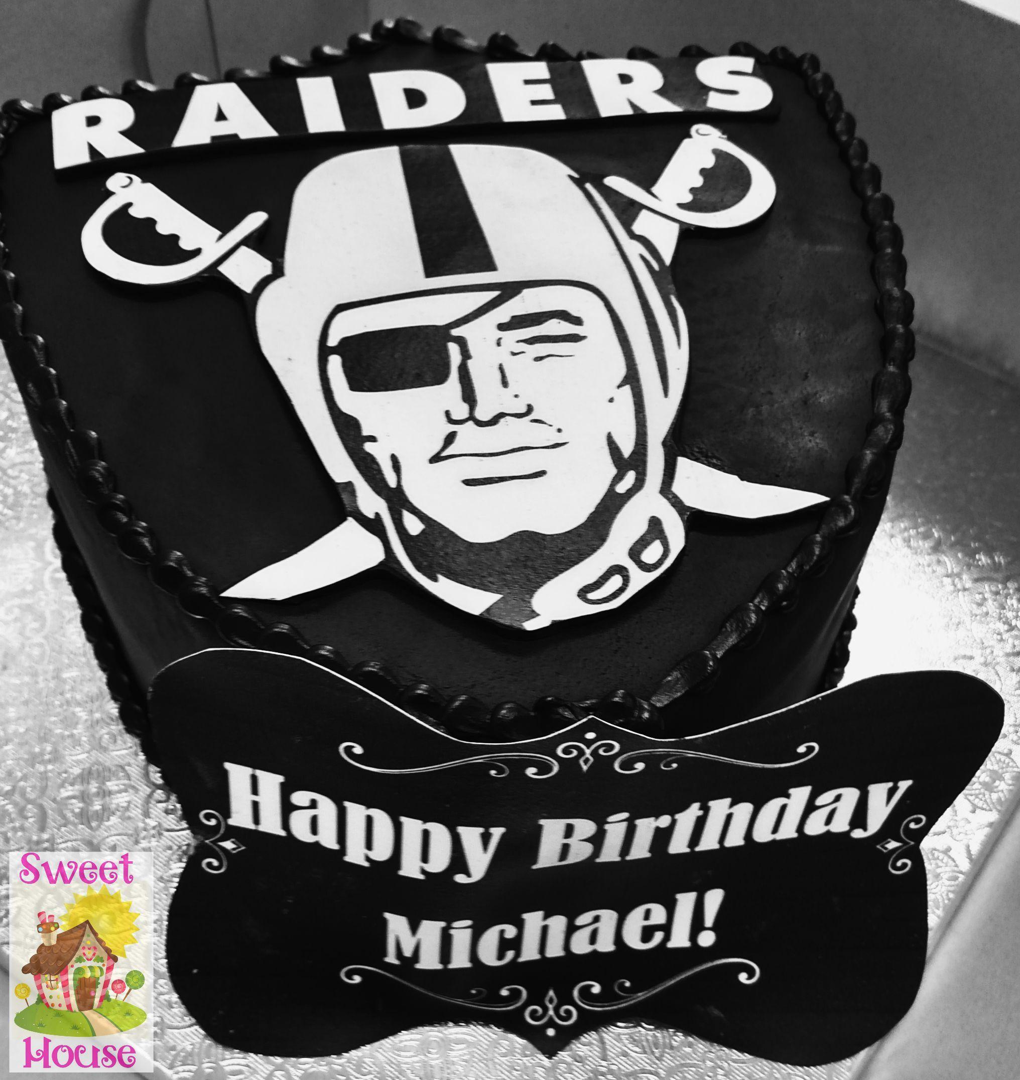 Raiders Cake