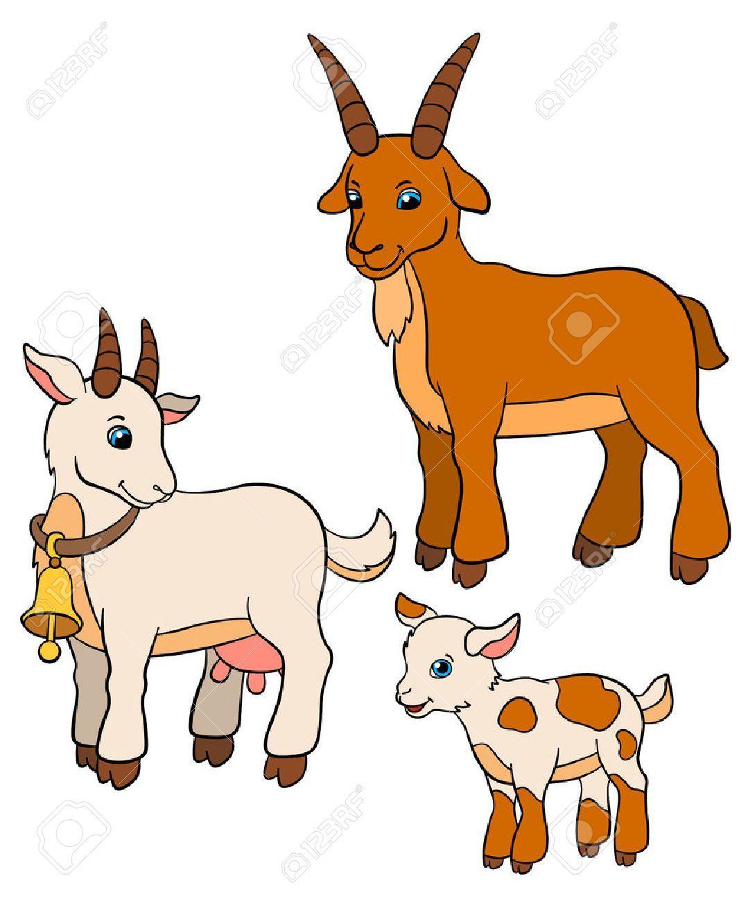 Clipart Goat Mother Goat Graphics Illyustracii Kartinki Kozy