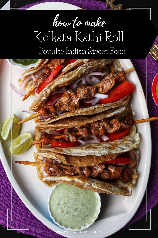 kolkata kathi roll in 2020  recipes homemade recipes
