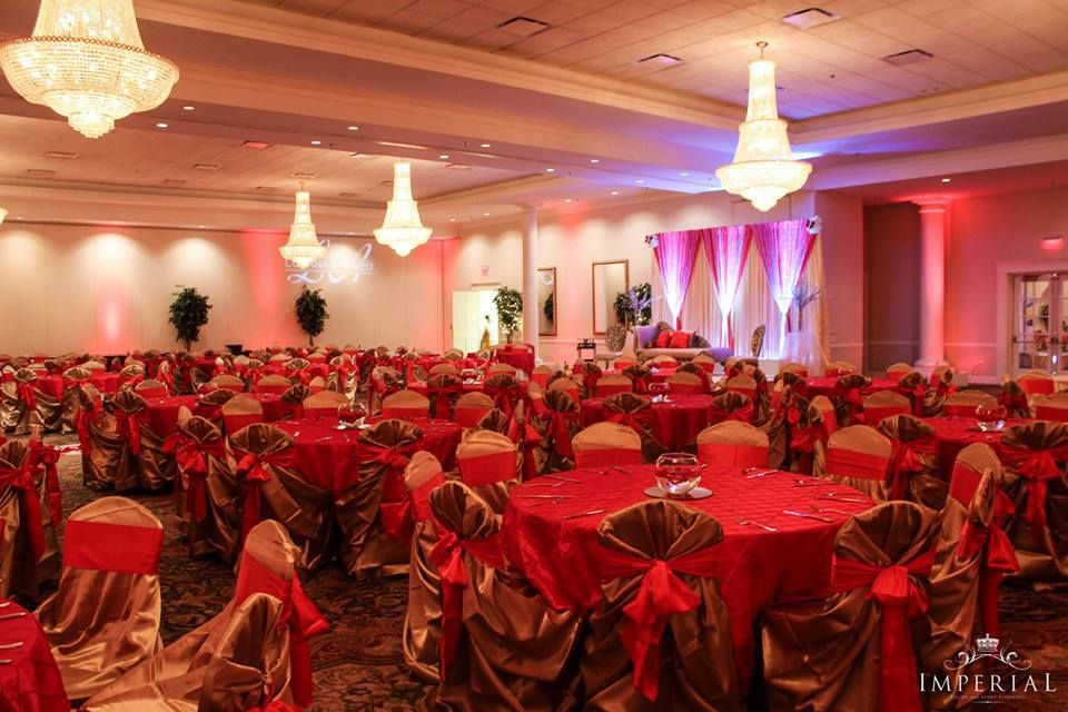 red and gold indian wedding - Google Search | Traditional Indian ...