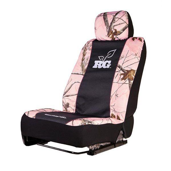 Realtree Girl Pink Camo Universal Seat Cover Realtreegirl
