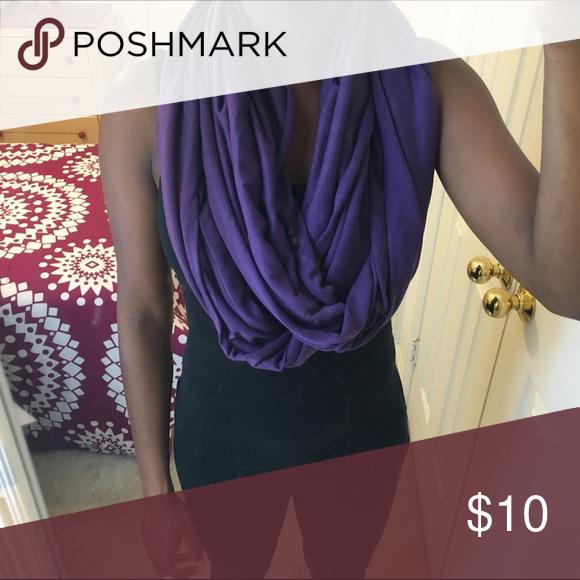 LAST CHANCE Purple Infinity Scarf Purple infinity scarf