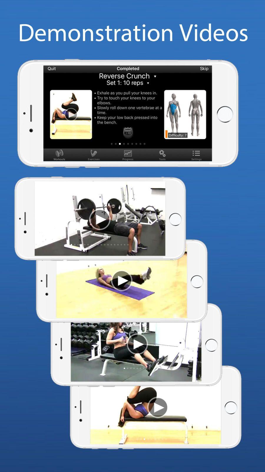 iPersonalTrainer Lite SportsFitnessappsios Workout
