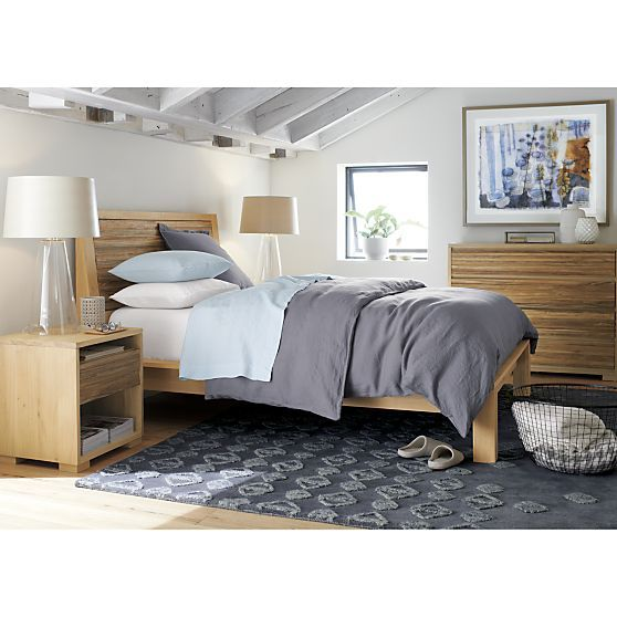 Sierra nightstand crate and barrel master bedroom - Crate barrel bedroom furniture ...
