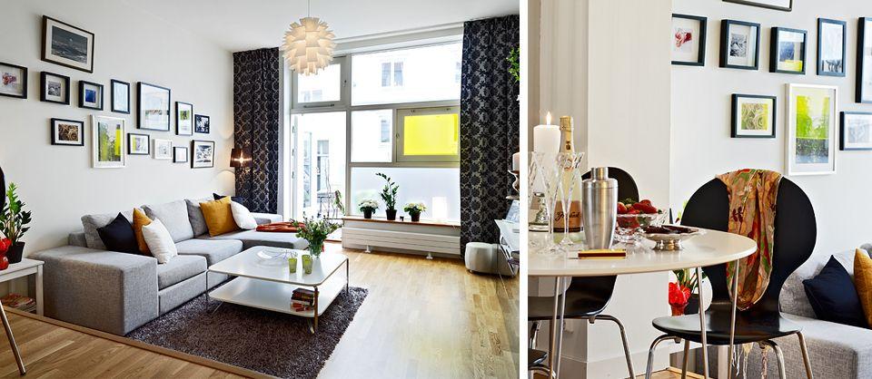 Lovely #art wall. #livingroom