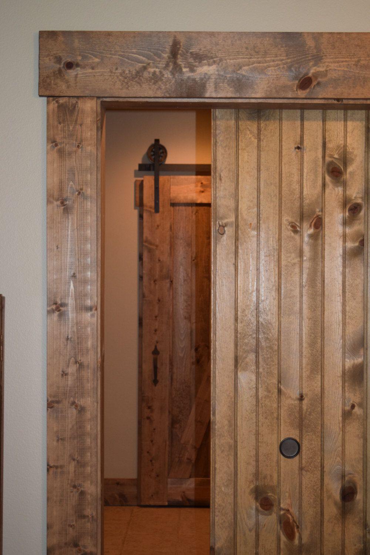 Plh Barn Door 46 Quot W X 84 Quot H Custom Design Two Sides Door