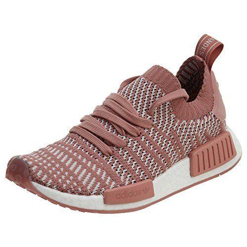 newest 6701d fa97a adidas Originals Women s NMD R1 STLT PK Running Shoe, ash Pink Orange Indigo  White, 8.5 M US