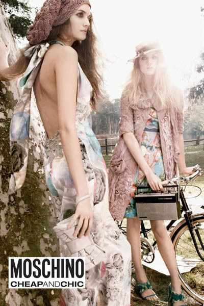 Moschino Cheap & Chic Spring/Summer 2009 ad