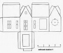 Putz House Plans - Bing images | Paper houses | Pinterest | House ...