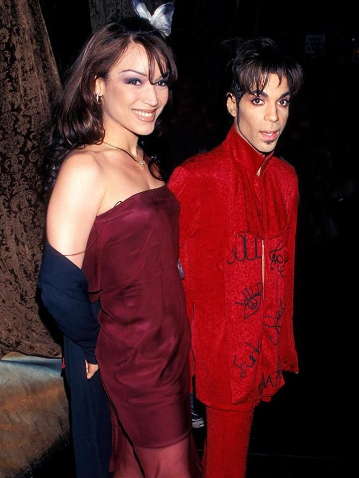 Prince And Mayte Garcia Prince And Mayte The Artist Prince Mayte Garcia