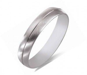Alliance de mariage or blanc #mariage #alliance #baguehomme