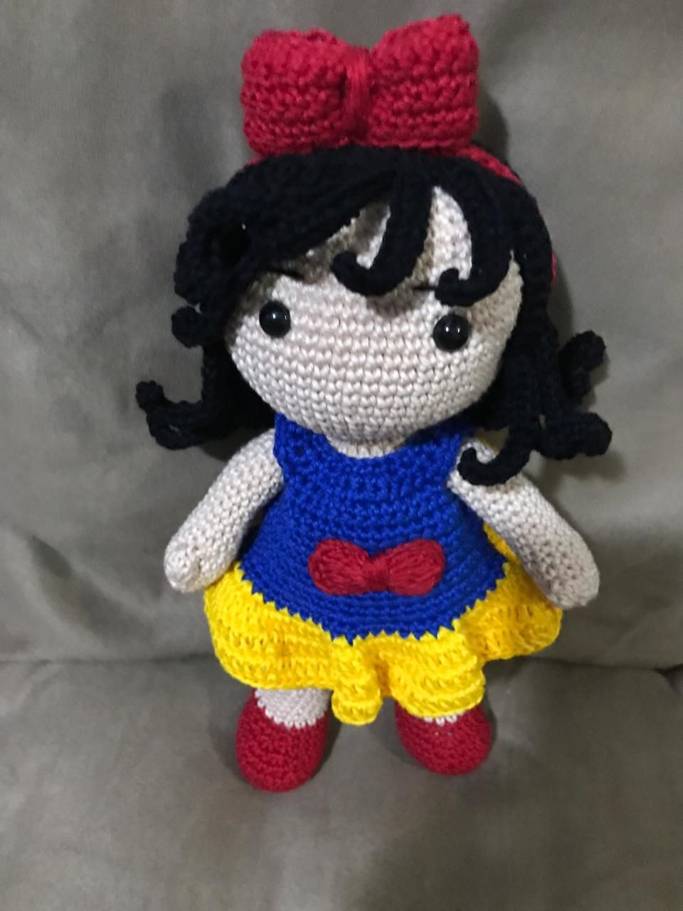 Boneca Lol ( receita da ToyArt amigurumi), minha versão da receita ... | 1280x960