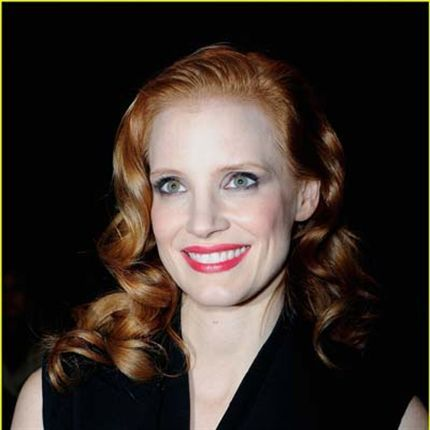 Celebrity Color Formula Jessica Chastain S Chic Copper Behindthechair Com Hair Color Formulas Hair Color Hair Beauty