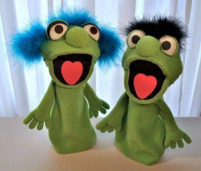 Cute monster professional muppet puppet cute, monster, muppet.