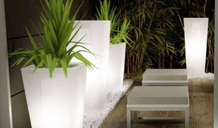 Vasi Da Giardino Moderni Gallery Of Vaso Resina Quadrato Alto H In