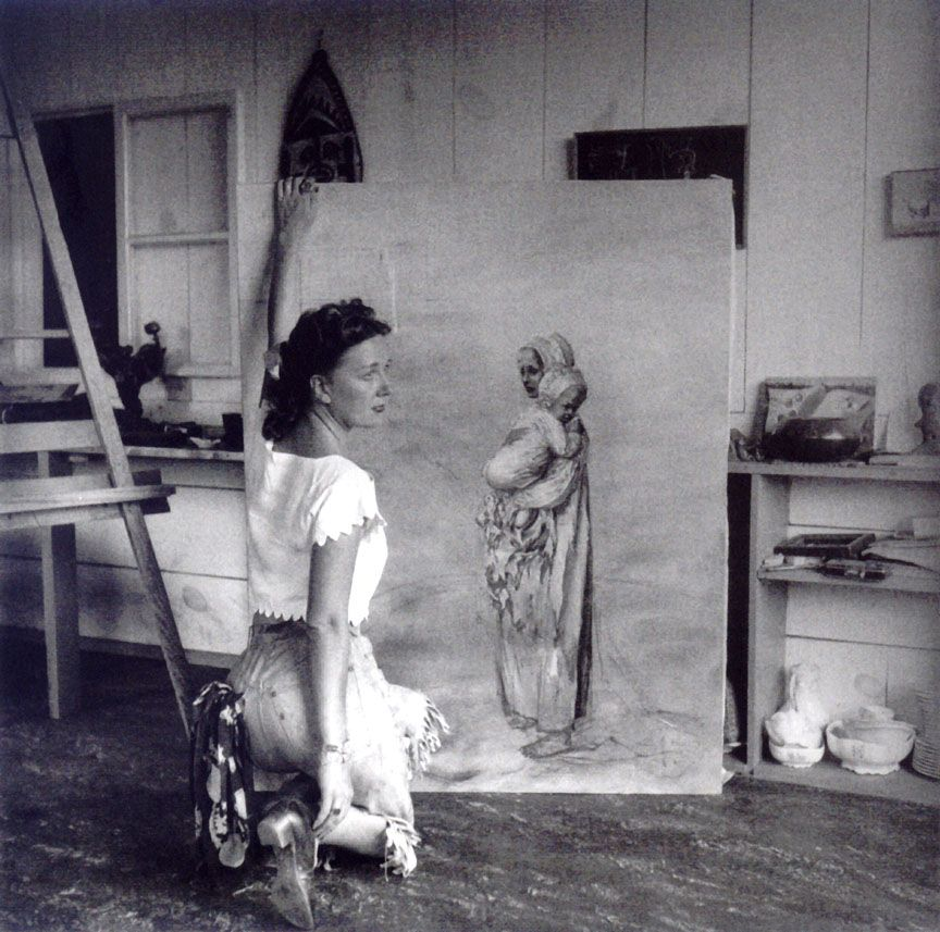 Dorothea Tanning, Sedona (Arizona) 1946 -by Lee Miller