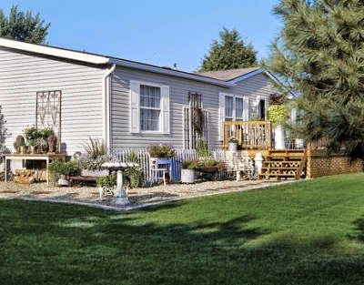 Shabby Chic For Mobile Homes Via Country Living