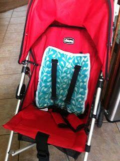 Stroller Car Seat Cooling Pad Tutorial Stroller Hacks Car Seats