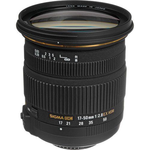 Sigma 17 50mm F 2 8 Ex Dc Os Hsm Lens For Nikon F Zoom Lens Canon Dslr Camera Nikon Dslr Camera
