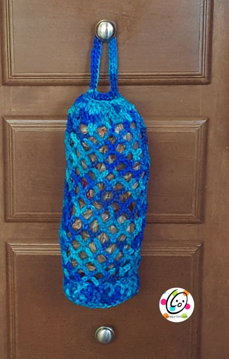 Free Pattern: Bag Keeper | Crochet | Pinterest | Bolsas de plástico ...