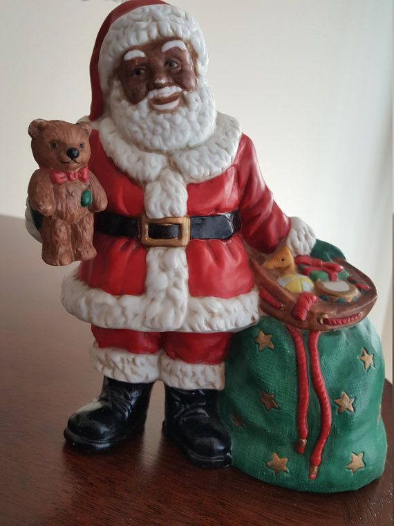 Dolls House Father Christmas with Sack of Toys /& His List Santa Claus Figure