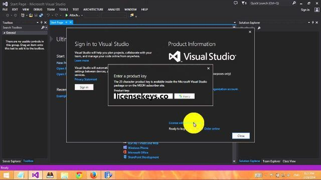 Visual Studio 16 2 0 Crack + License Key Free Download 2019