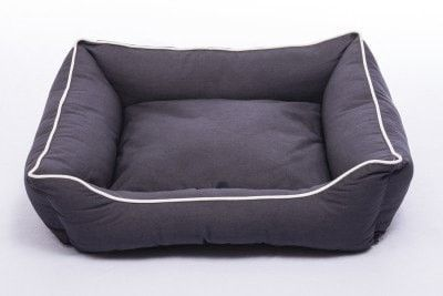 DOG BEDS & LOUNGERS - LOUNGER - PEBBLE GRAY - X-LARGE - 37X31 - DOG GONE SMART PET PRODUCTS - UPC: 849670002750 - DEPT: DOG PRODUCTS