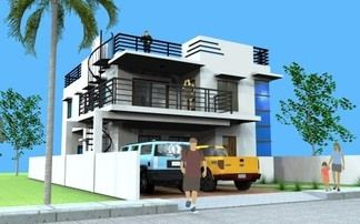 Model Berna Ideal For 12m X 20m 240 Sq M Lot Click Image To