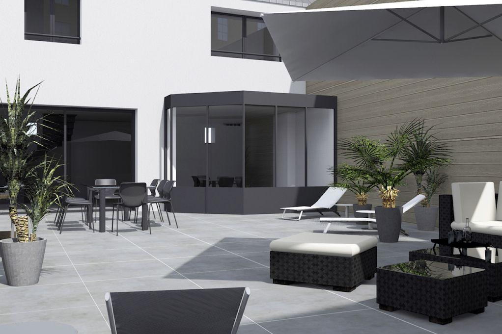 nantes : grand loft à rénover en plein coeur de nantes | terrasse