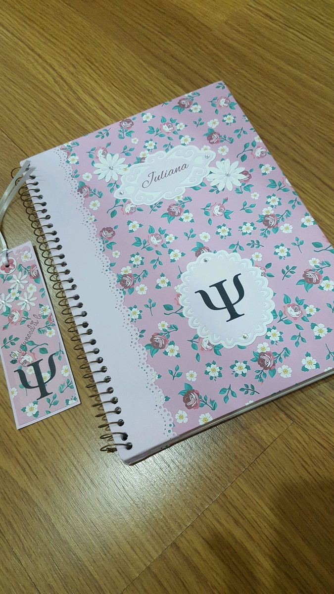 Caderno Psicologia Vendido Cadernos Personalizados Caderno