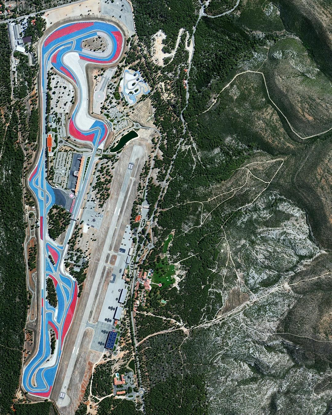 Dailyoverview Circuit Paul Ricard Is A Motorsport Track At Le