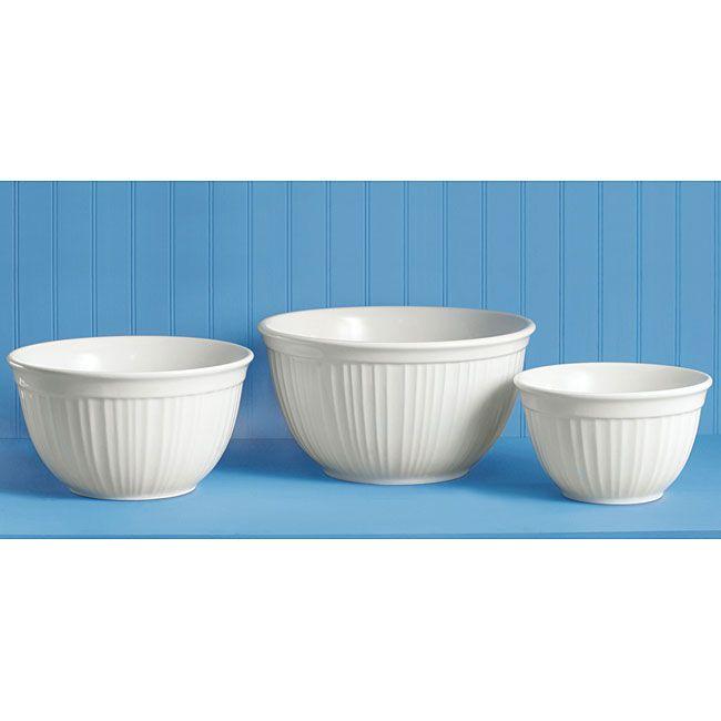 \u003cli\u003eCorningWare French White bowl set is a kitchen essential\u003c\/li\u003e\u003cli\u003eBakeware set includes everything you need for any culinary adventure\u003c\/li\u003e\u003cli\u003eSet offers ...  sc 1 st  Pinterest & li\u003eCorningWare French White 3-piece bowl set is a kitchen essential ...