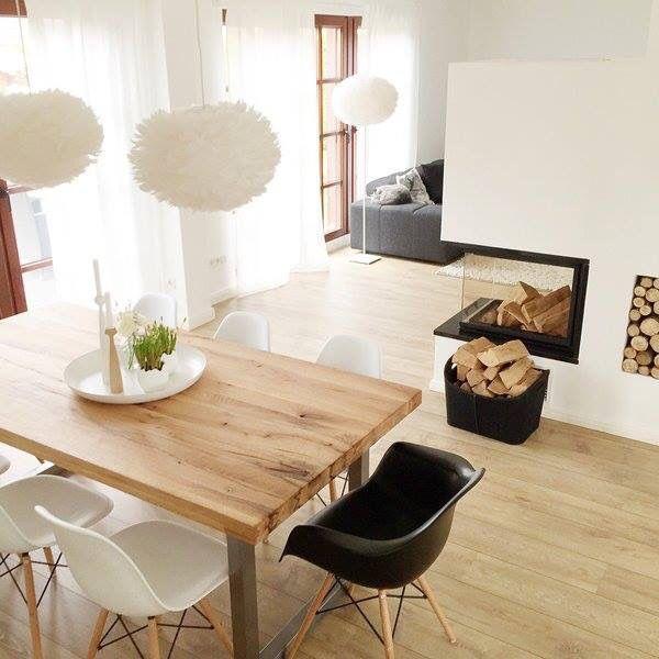 sch ner kamin haus einrichtung pinterest wohnen haus und wohnzimmer. Black Bedroom Furniture Sets. Home Design Ideas
