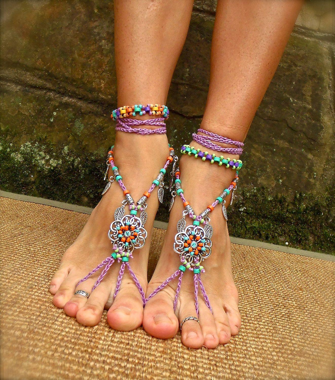 Gypsy Summer Barefoot Sandals Sole Beach