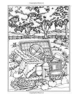 amazoncom creative haven spring scenes coloring book creative haven coloring books 9780486814124 teresa goodridge books