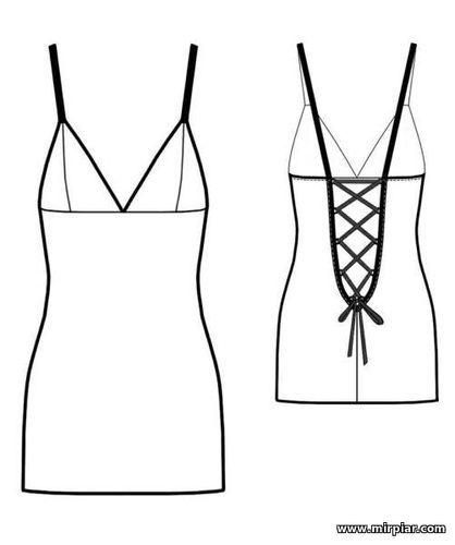 Готовые выкройки сексуальной одежды