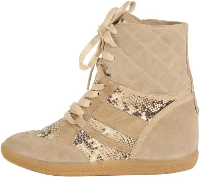 perfect wedge sneakers