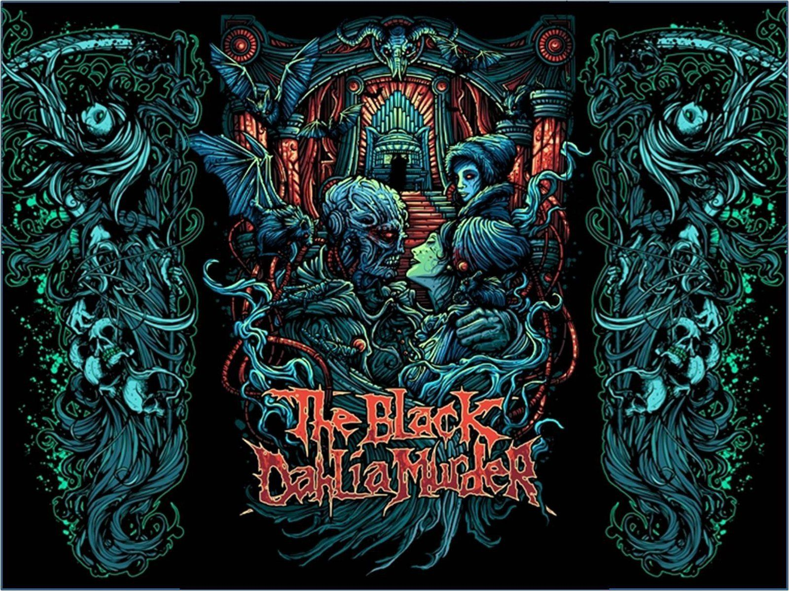 8 The Black Dahlia Murder Hd Wallpapers Backgrounds Wallpaper