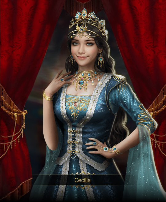 CECILIA PICTURE 2 in 2019 Harem games, Formal dresses