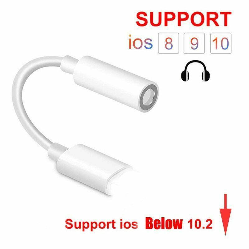Apple Lightning To 3 5mm Headphone Jack Adapter For Iphone X 8 7 Xs Max Xr New Unbranded Headphone Splitter Iphone Headphone