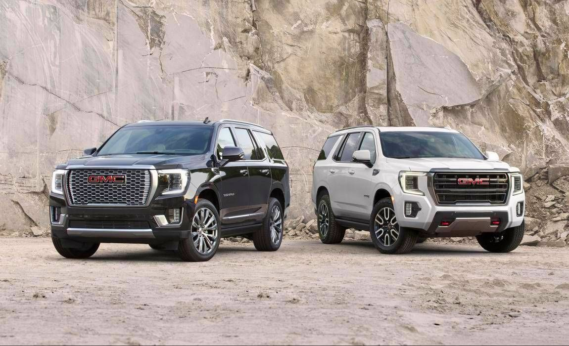Gmc Introduces 2021 Yukon At4 And Denali In 2020 Gmc Yukon Gmc Denali Gmc