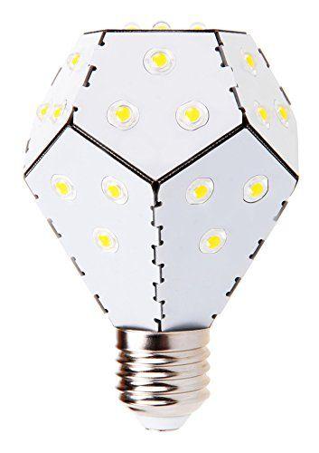Nanoleaf One LED Lampe Ersetzt 75 Watt E27 Birne, 10W 1200 Lumen 3000K  Warmweiß 360° 230V Weiß, Nicht Dimmbar: U20ac29,99 #nanoleaf #bulbs #led #lampen  ...