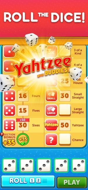 Yahtzee® with Buddies Dice on the App Store (With images