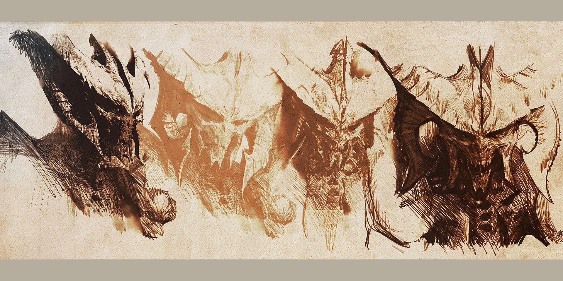 ArtStation - diablo 3 drawing, daniel chavez