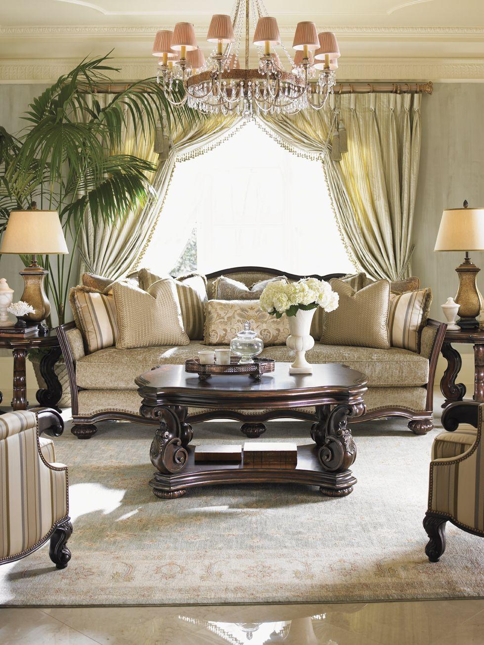 Lexington Home Brands Florentino Collection Design Sofa