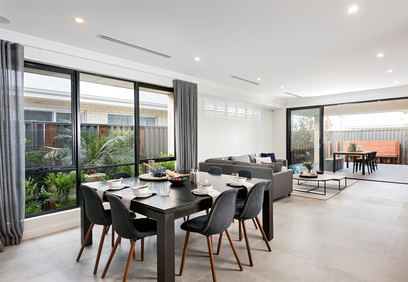 Home Builders Australia | Dining | Display Home | New Homes ...