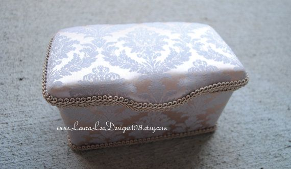 Elegant Silk Damask Boutique Style Nursery by LauraLeeDesigns108, $19.99