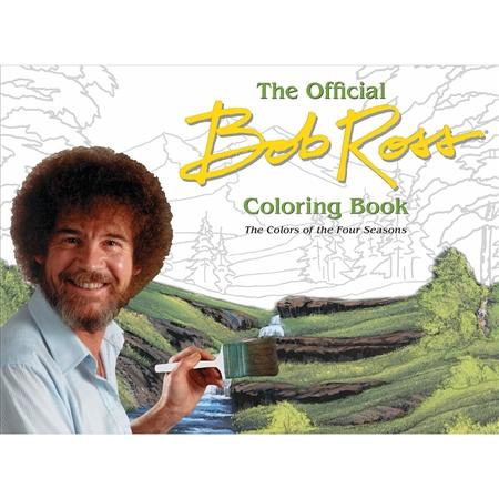 Bob Ross Coloring The Four Seasons Bob Ross Coloring Books Bob Ross Original