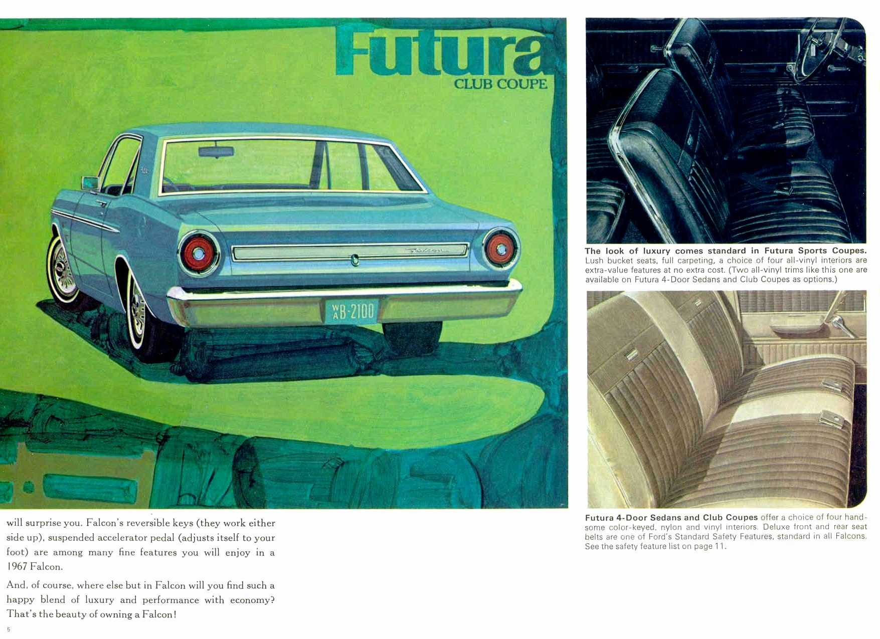 Directory Index Ford 1967 Ford 1967 Ford Falcon Brochure Cdn Ford Falcon Ford Sports Coupe